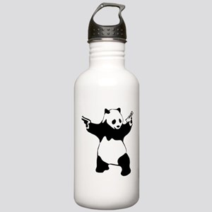 Panda guns Water Bottle