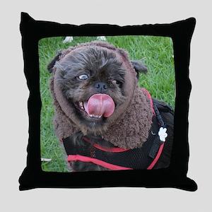 It's a real live Ewok! Throw Pillow