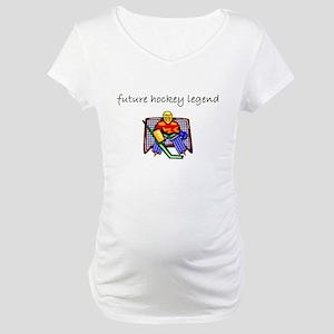 future hockey Maternity T-Shirt