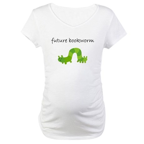 future bookworm.bmp Maternity T-Shirt