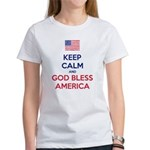 Keep Calm and God bless America T-Shirt