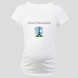 future francophile Maternity T-Shirt