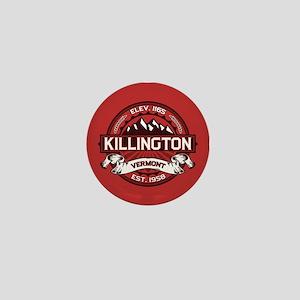 Killington Red Mini Button