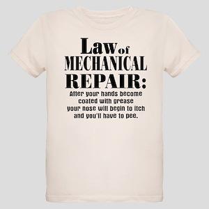 Law of Mechanical Repair: Organic Kids T-Shirt