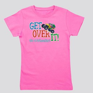 Get Over It - 4 Wheeling Girl's Tee
