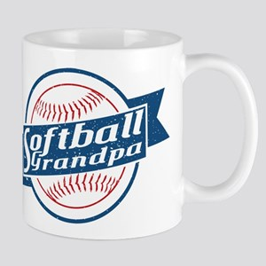 Softball Grandpa Mug
