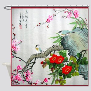Best Seller Asian Shower Curtain