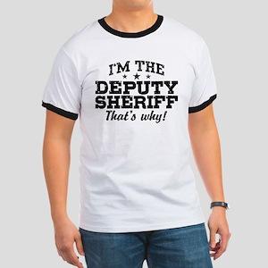 Funny Deputy Sheriff Ringer T