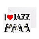 Jazz Greeting Cards (Pk of 10)