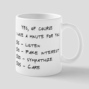 Of course I have a minute Mug