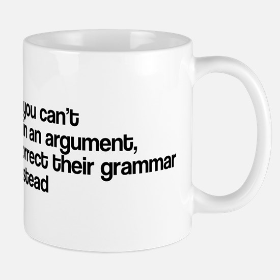 Correct Their Grammar Mug