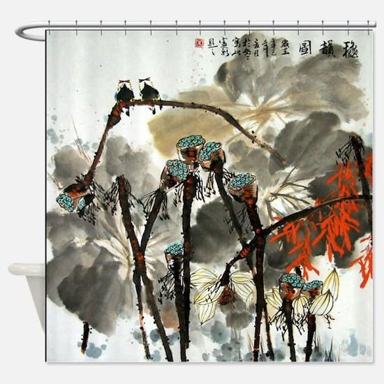 CHINA729 Shower Curtain