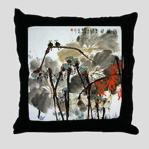 CHINA729 Throw Pillow