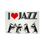 Jazz Rectangle Magnet