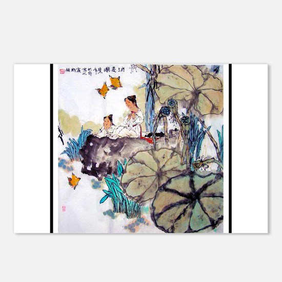 Best Seller Asian Postcards (Package of 8)