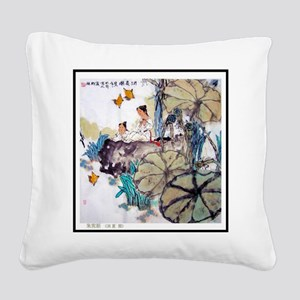 Best Seller Asian Square Canvas Pillow