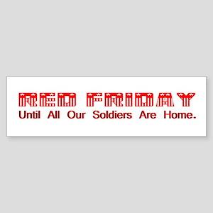 Red Friday (2) Bumper Sticker