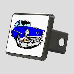 56 Bel Air 2 Door Blue Rectangular Hitch Cover