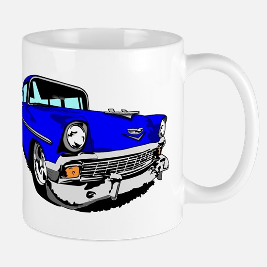 56 Bel Air 2 Door Blue Mug