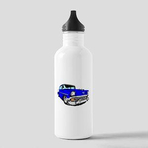 56 Bel Air 2 Door Blue Stainless Water Bottle 1.0L