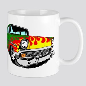 This 56 Bel air is on fire! Mug