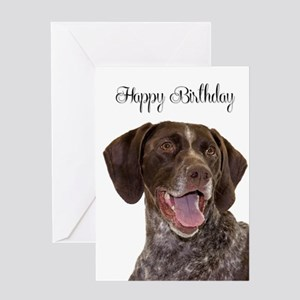 Pointer Birthday Card