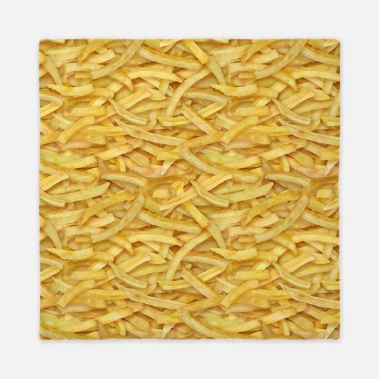 Free Fries Queen Duvet