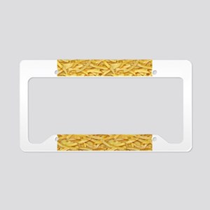 Free Fries License Plate Holder