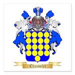 Chauvelet Square Car Magnet 3