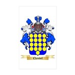 Chauvel Sticker (Rectangle 50 pk)