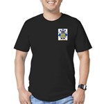 Chauve Men's Fitted T-Shirt (dark)