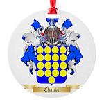 Chauve Round Ornament