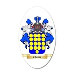 Chauve 35x21 Oval Wall Decal