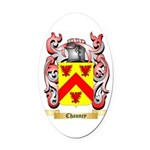Chauncy Oval Car Magnet