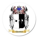 Chaudret Round Car Magnet
