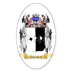 Chaudret Sticker (Oval)