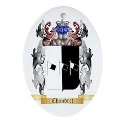 Chaudret Ornament (Oval)