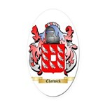 Chatwick Oval Car Magnet