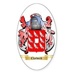 Chatwick Sticker (Oval 50 pk)
