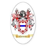 Chatteris Sticker (Oval 50 pk)