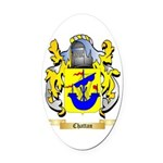 Chattan Oval Car Magnet