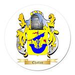 Chattan Round Car Magnet