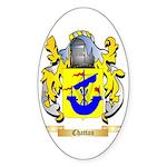 Chattan Sticker (Oval 50 pk)