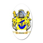 Chattan 20x12 Oval Wall Decal