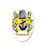 Chattan 35x21 Oval Wall Decal