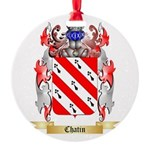 Chatin Round Ornament