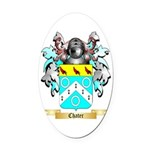 Chater Oval Car Magnet