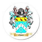Chater Round Car Magnet
