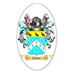 Chater Sticker (Oval 50 pk)