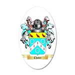Chater 35x21 Oval Wall Decal